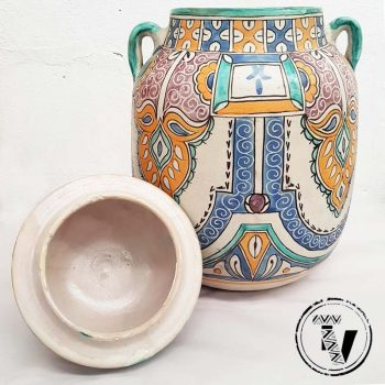 Moroccan Afro Moresque Urn