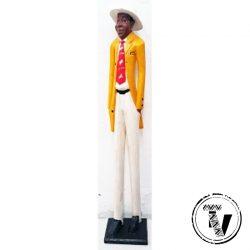 African Colonial Figure Gentleman
