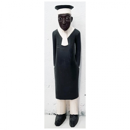 African Colonial Figure Barrister