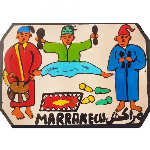 Moroccan Tin Painting - marrakech