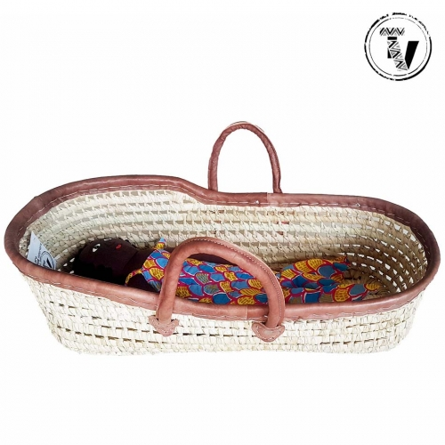Moroccan Moses Doll Basket