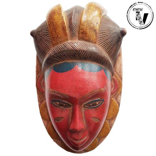 Baule Mblo Portrait Mask