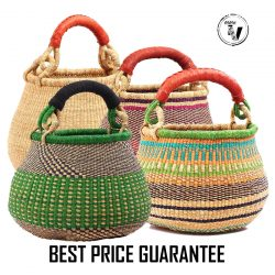 bolga basket pot - set 10