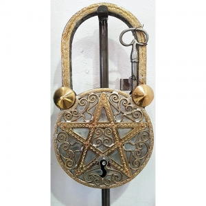 large moroccan lock