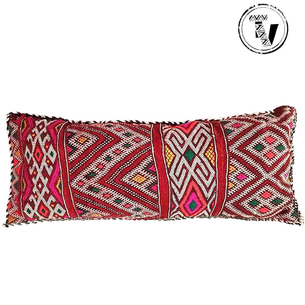 Moroccan Kilim Lumbar Pillow