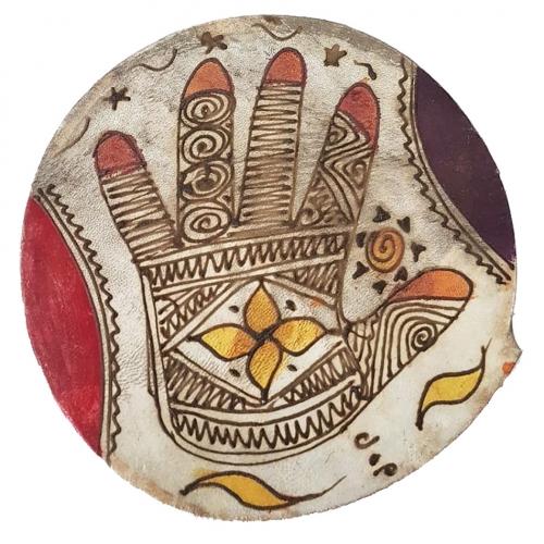 Bendir storytelling drum morocco