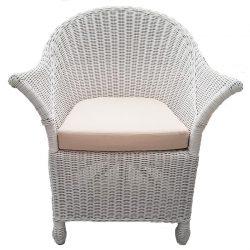 white cane atlas resort chair
