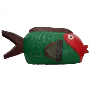 bozo fish green brown red