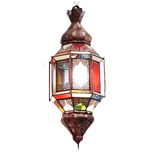fez ornate coloured lantern