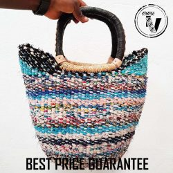 Bolga Basket U-Shopper Recycled
