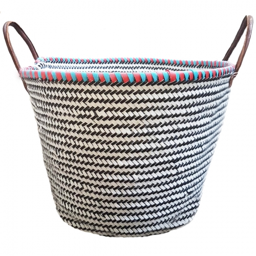 Recycled Basket Morocco