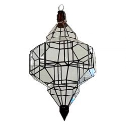 moroccan clear gallery light