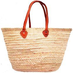 Moroccan Woven Market Basket