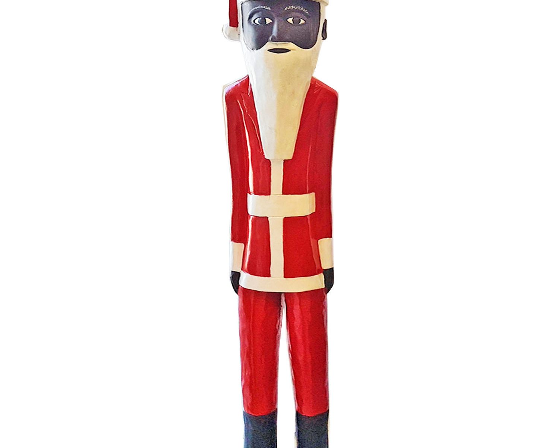 African Colonial Figure Santa