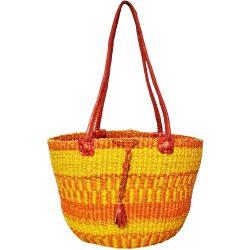 Bolga Basket Shoulder Bag