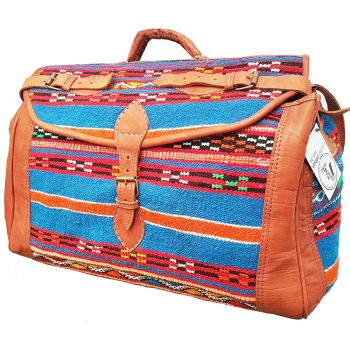 Moroccan Travel Carpet Bag