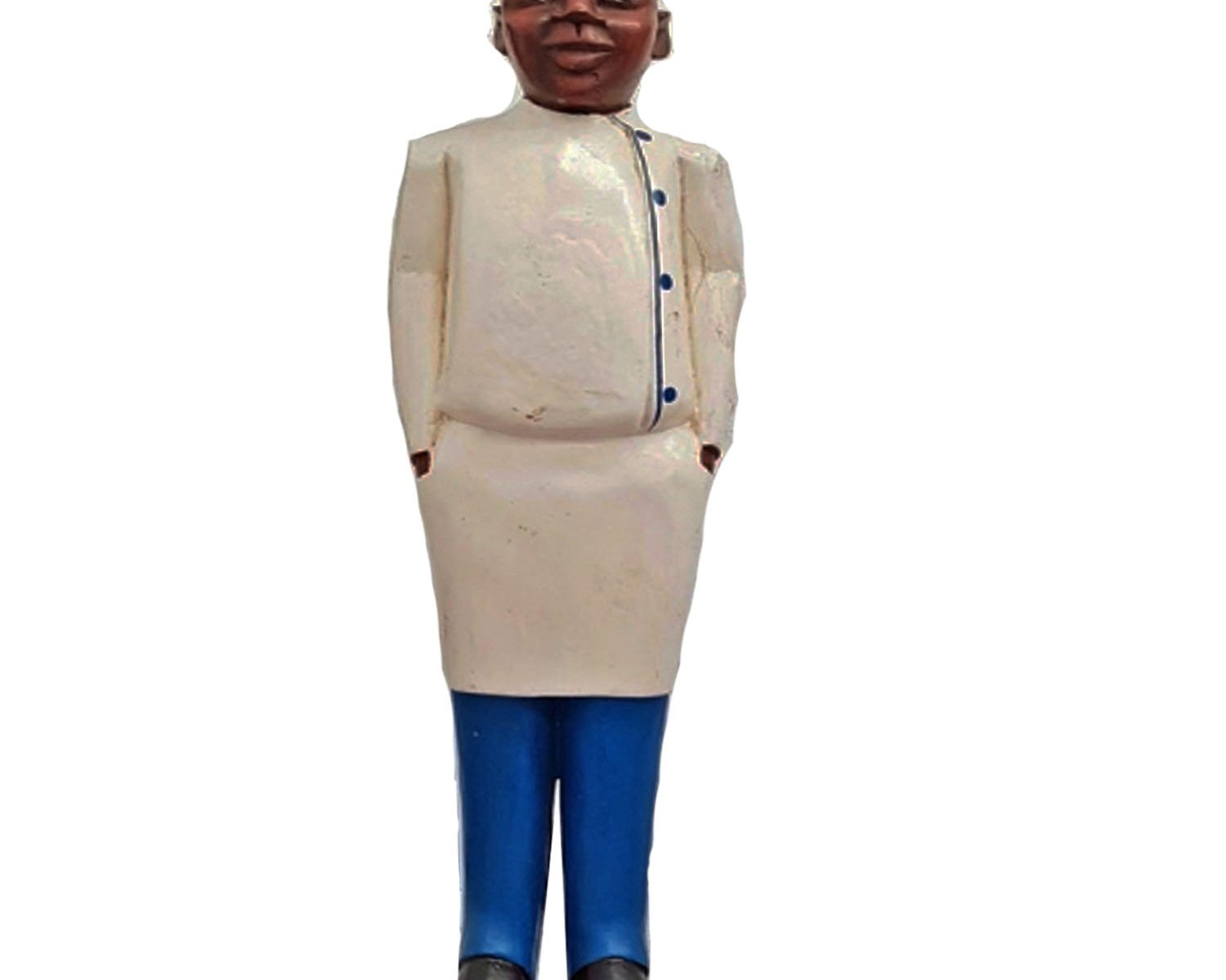 AFRICAN COLONIAL FIGURE CHEF