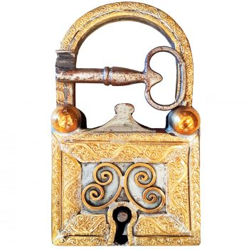 Moroccan Padlock Hand forged