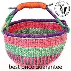 Bolga Basket Large Round