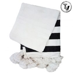 Moroccan 100% Cotton Throw