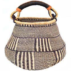 Bolga Pot Basket Large