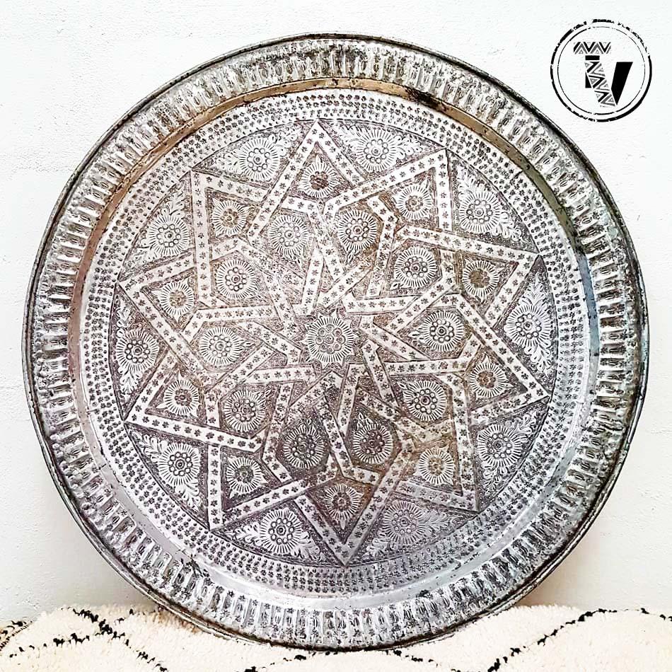 Moroccan Aluminium Tray