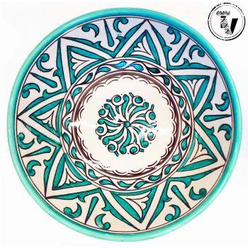 Moroccan AfroMoresque Bowl