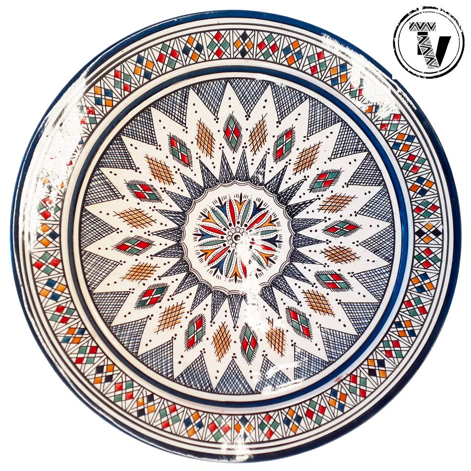 Large Safi Tribal Platter