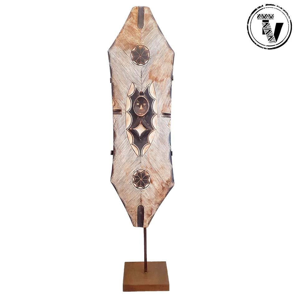African Wooden Shield Gabon