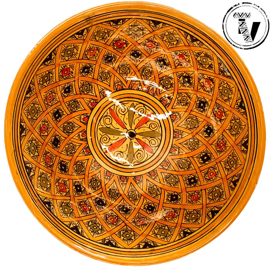Safi Moroccan Round Bowl