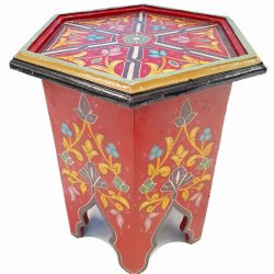 Mashrabiya Painted Side Table