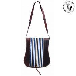 Hausa leather Shoulder Bag