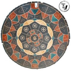 African Hausa Leather Mat