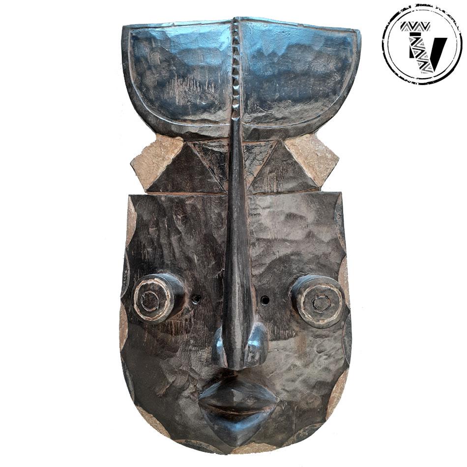 Liberian Grebo War Mask