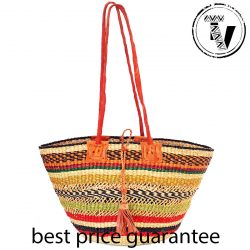 Bolga Basket Shoulder Bag