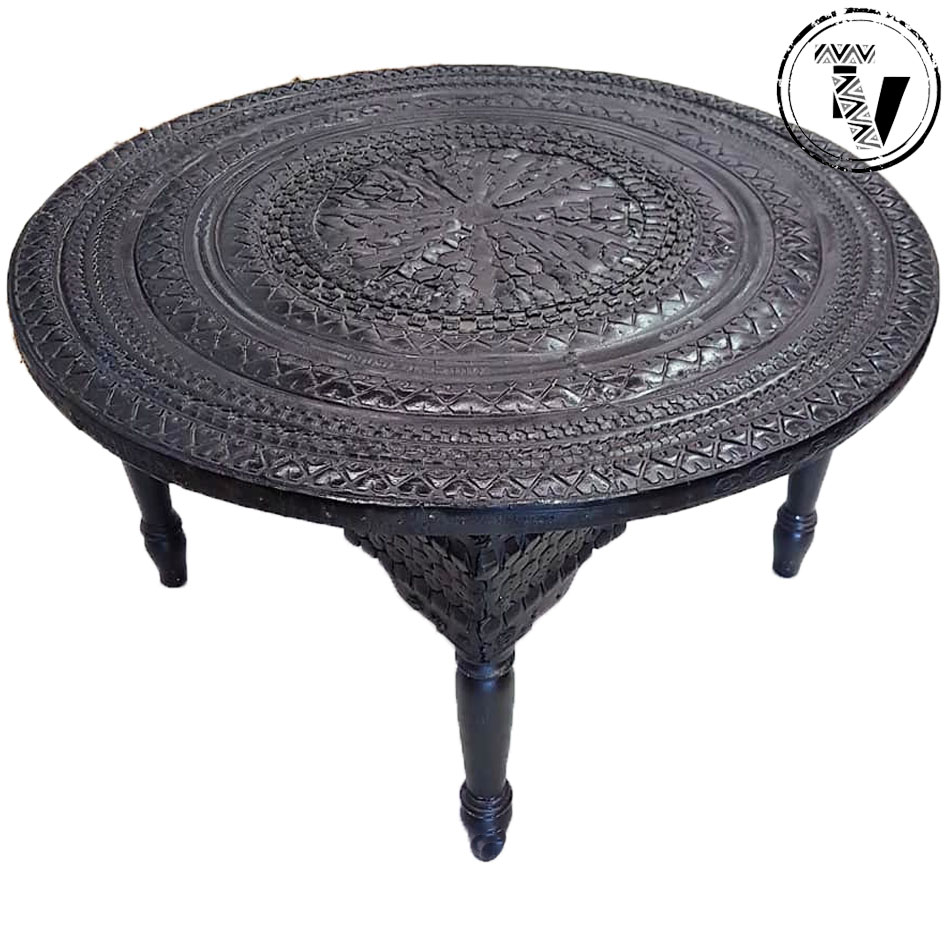 Moroccan Recycled Tyre Table