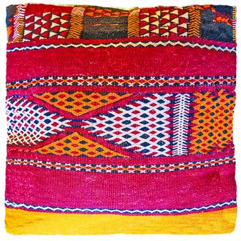 Moroccan Vintage Kilim Cushion