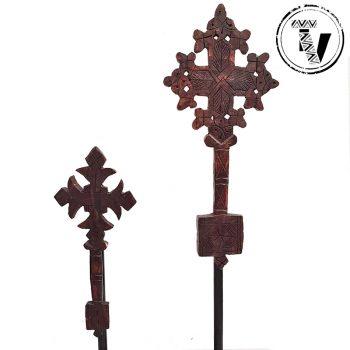 Wooden Ethiopian Coptic Cross
