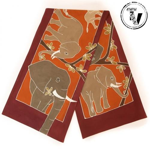 Table Runner Elephant Kingdom