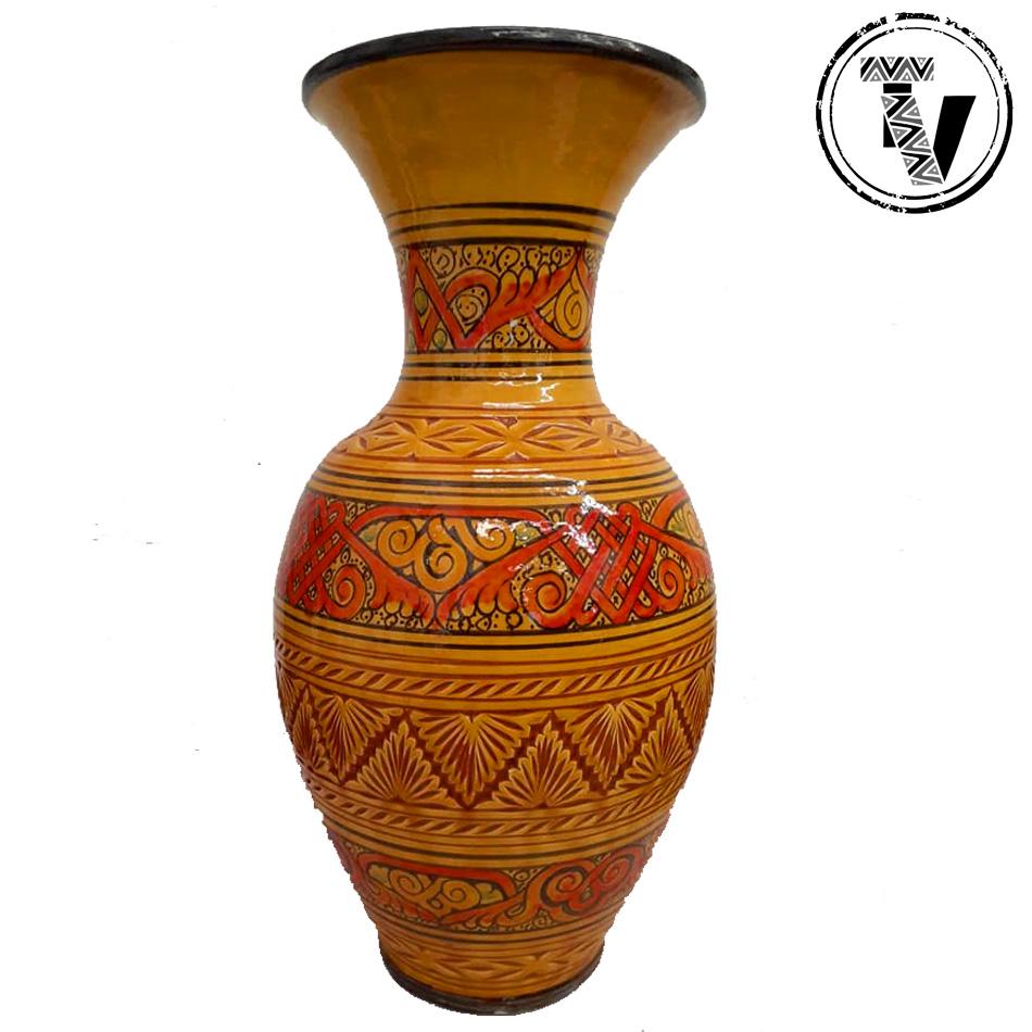 Safi Moroccan Pottery Vase