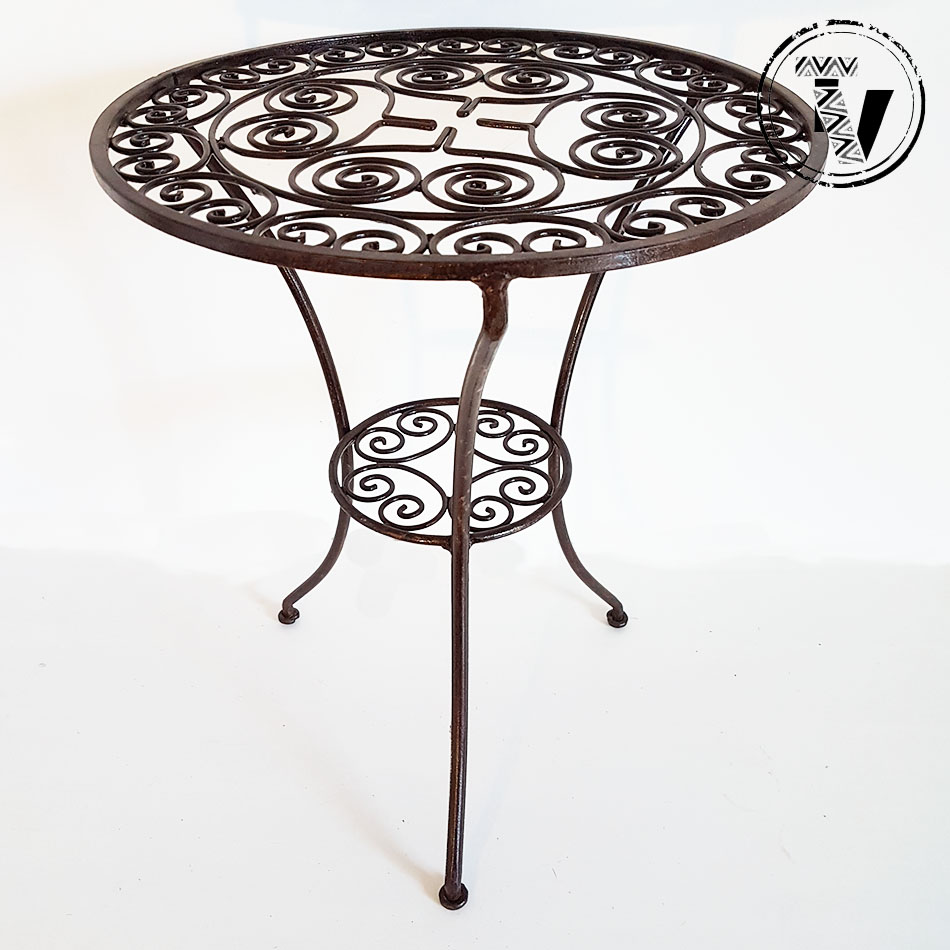 Moroccan Wrought Iron Table