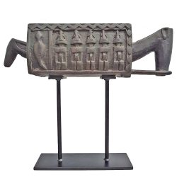 Dogon Carved Zoomorphic Trough