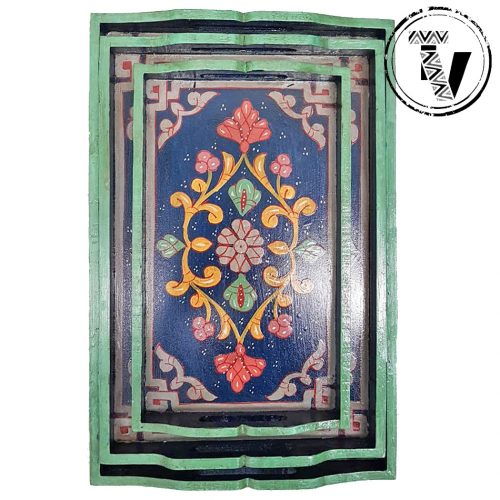 Mashrabiya Painted Serving Trays