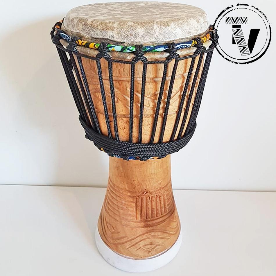 "African Djembe Drum 8"""