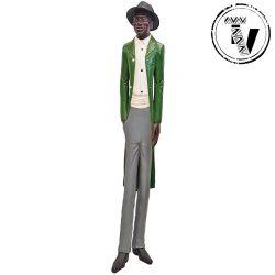 African Colonial Tuxedo Gentleman