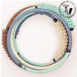 Telephone Wire Coil Bracelet