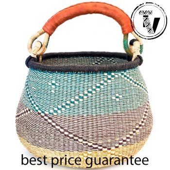 Bolga Pot Basket Large