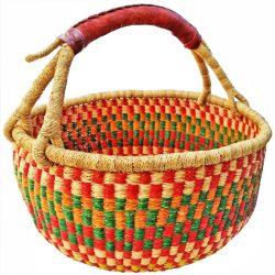 Bolga Basket Extra Large Round