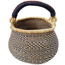 Bolga Basket Pot Large