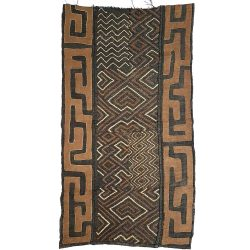 African Kuba Cloth 108cm x 58cm
